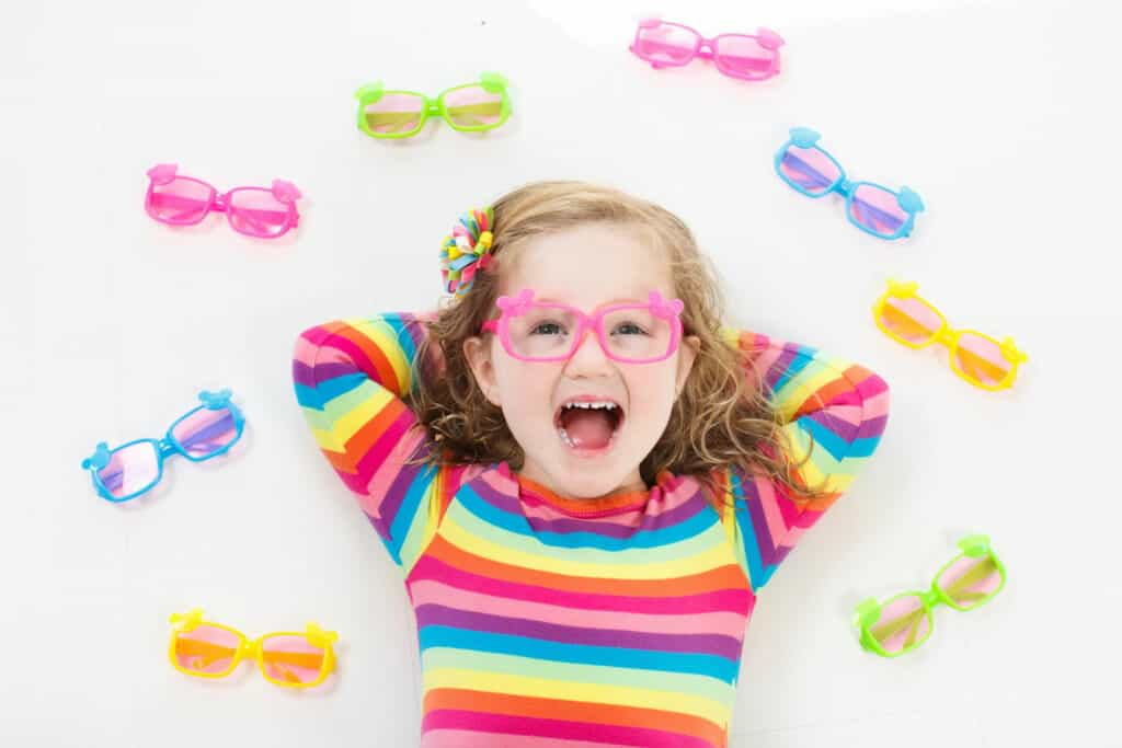 Kids prescription glasses