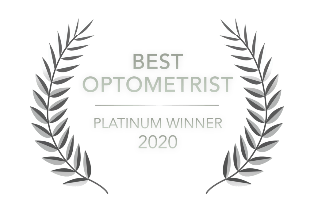 Best Optometrist - Readers Choice - Platinum Winner 2020