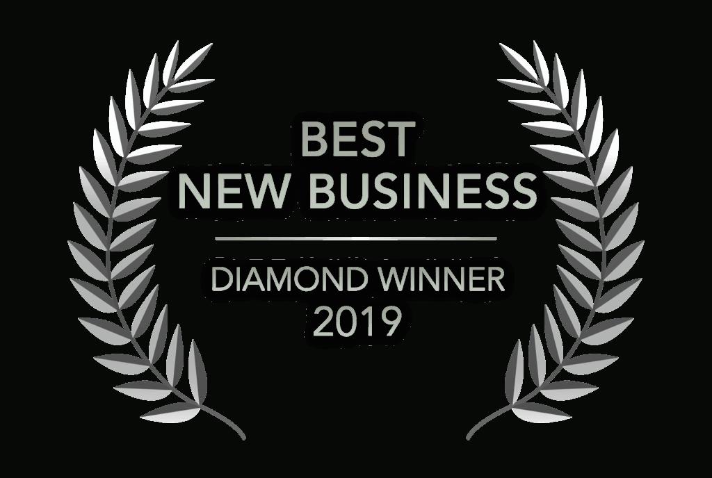 Readers Choice - Best New Business - Diamond Winner 2019