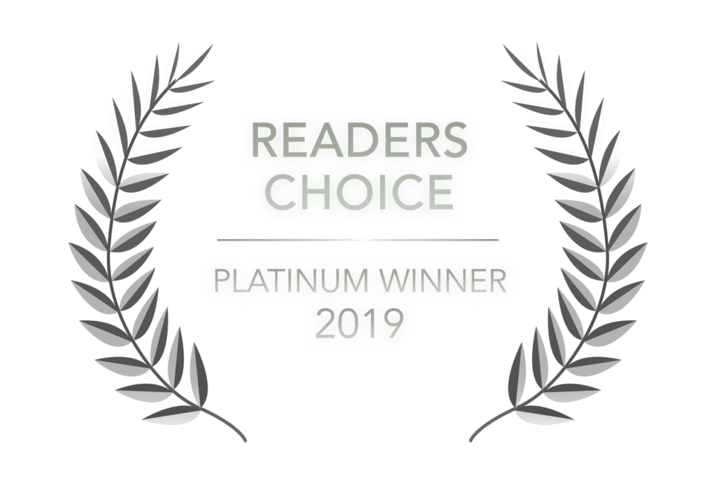 Readers Choice - Platinum Winner 2019