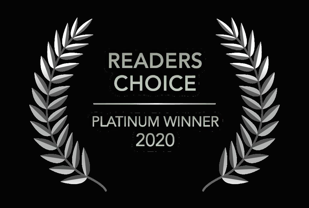 Readers Choice - Platinum Winner 2020