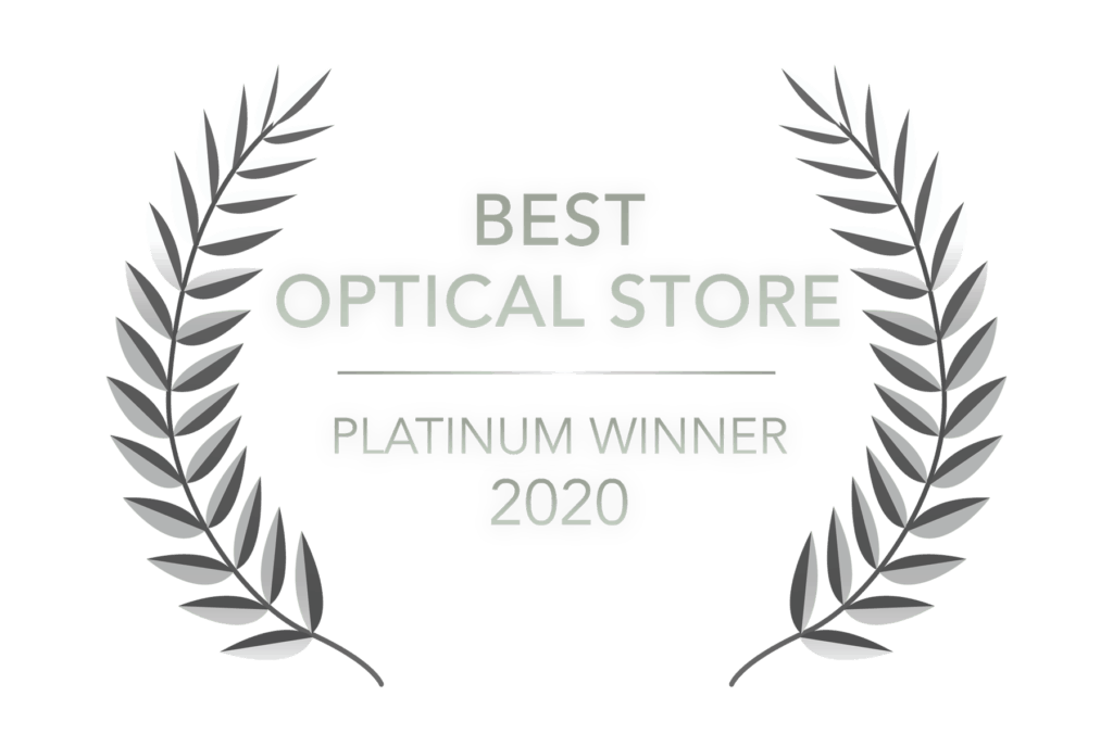Readers Choice - Best Optical Store - Platinum Winner 2020